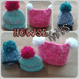 Premium Knitted Baby Hats