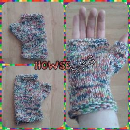 Fingerless Gloves with Thumb